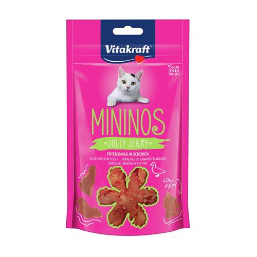 Vitakraft kattegodbid  Mininos Jolly med And. 40 g.