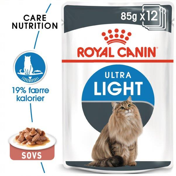 Royal Canin Ultra Light, 12 poser á 85 g