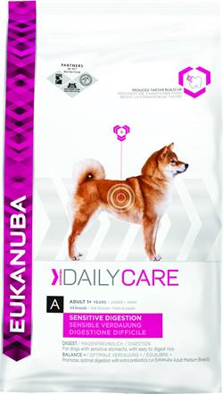 EUKANUBA Daily Care Sensitive Digestion 12 kg.