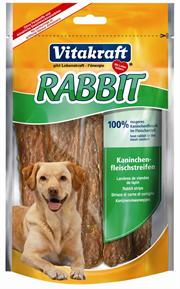 Viatakraft Rabbit strimler 80 g.
