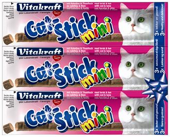 Cat Stick mini - Torsk og Tun