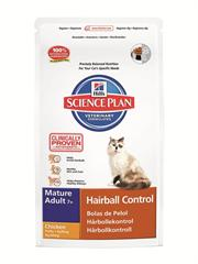 Science Plan™ Feline Mature Adult 7+ Hairball Control Chicken