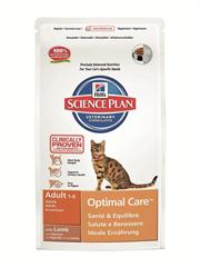 Science Plan™ Feline Adult Optimal Care™ with Lamb