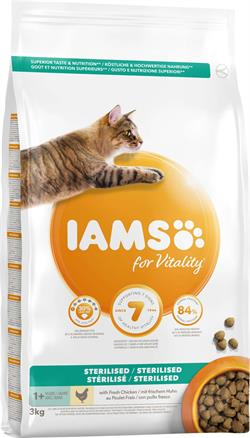 Iams Adult Sterilised 10 kg.