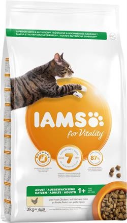 IAMS ADULT CHICKEN 3 kg.