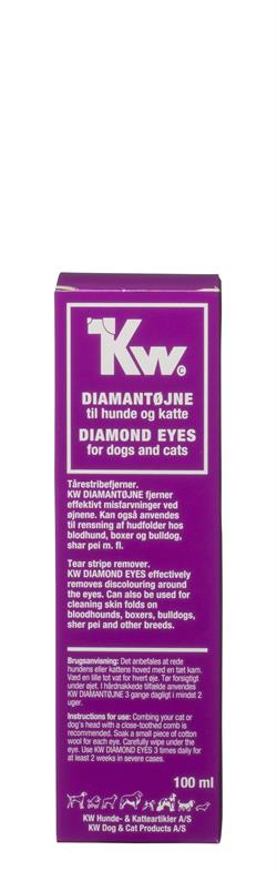 Kw Diamantøjne 100ml.