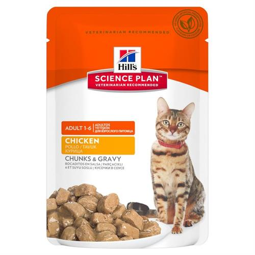 Science Plan™ Feline Adult POULTRY SELECTION 12 x 100 g ( 6 x kylling, 6 x kalkun )