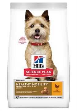 Science Plan™ Canine Adult Healthy Mobility Small og Mini with Chicken 1,5kg