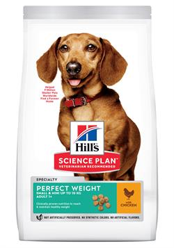 Science Plan™ Canine Adult Perfect Weight™ Mini med kylling 6kg