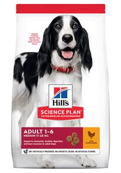 Science Plan Hundefoder Canine Adult Advanced Fitness™ Medium with Chicken 12 kg.SUPER TILBUD SPAR 150 kr