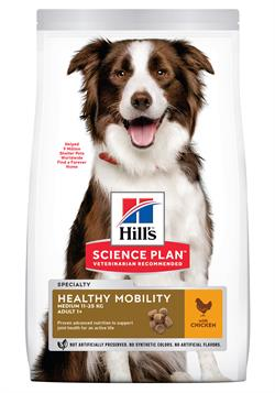 Science Plan™ Canine Adult Healthy Mobility Medium with Chicken 2,5 kg.