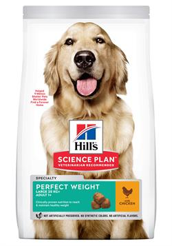 Science Plan Hundefoder Canine Adult Perfect Weight Large Breed 12 Kg SPAR 100,00kr