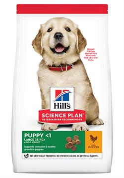 Science Plan ( Hvalpefoder ) Puppy Healthy Development™ Large Breed Chicken 12 kg.SPAR 100,-kr.