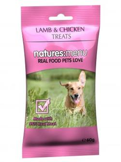 NaturesMenu BARF Bites, Dog Lamb/Chicken