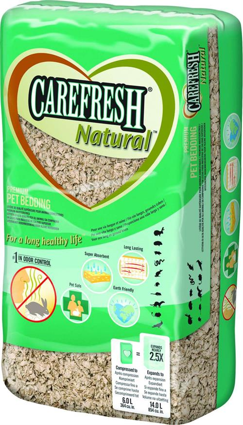CareFRESH Natural 60 L Bunddække til gnavere .