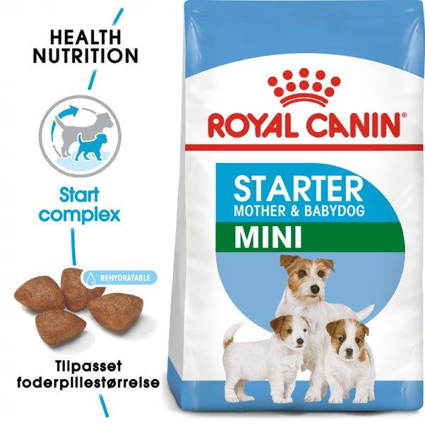 Royal Canin Mini Starter Mother & baby.