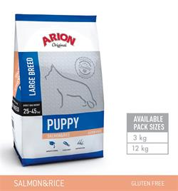 Arion Puppy Large Breed – Laks & Ris Gluten fri.