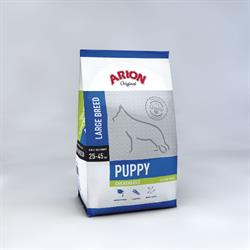 Arion Puppy Large Breed – Kylling & Ris Gluten fri . 12 kg.