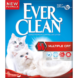 Ever Clean Multiple Cat 10 L. Kattegrus.