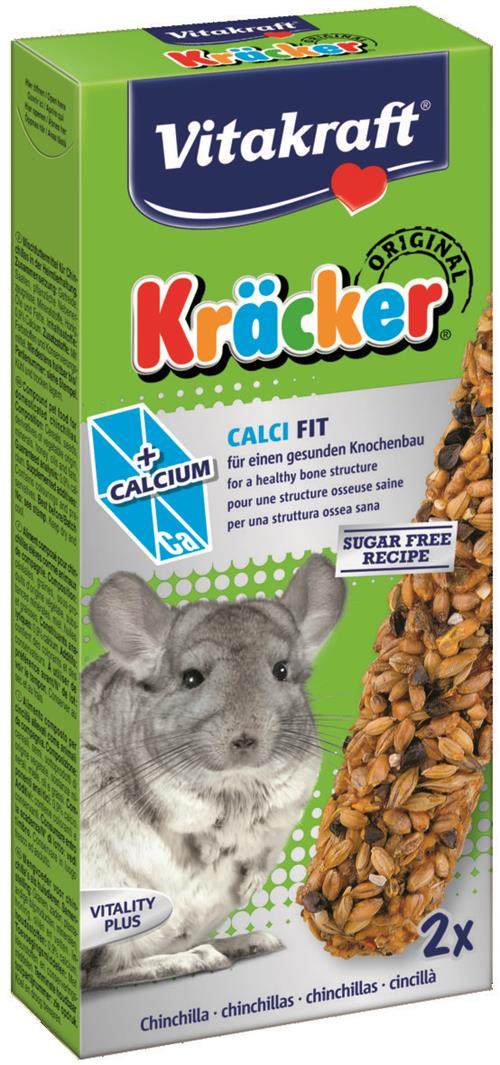 Vitakraft Kräcker 2-pak CALCIUM - Chinchilla