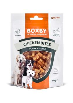 Boxby chicken bites godbidder. 90g.