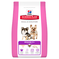 Hill`s Science plan Small & Miniature Hundefoder  senior 11+ 1,5 kg.