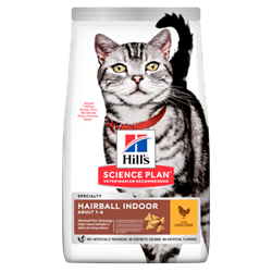 Science Plan™ Feline Adult Hairball Indoor Control Chicken 1,5 kg